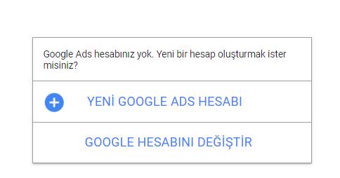 Google reklam oluştur
